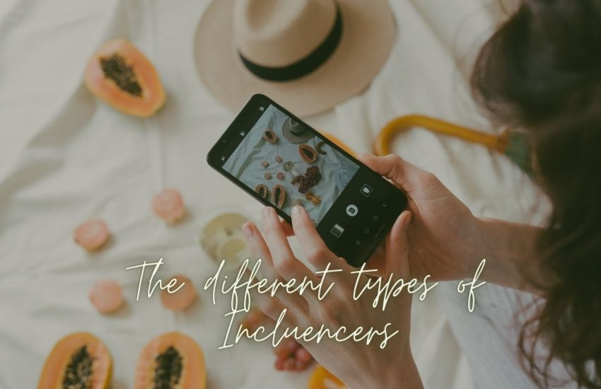 The Different Types of Influencers or Digital Creators