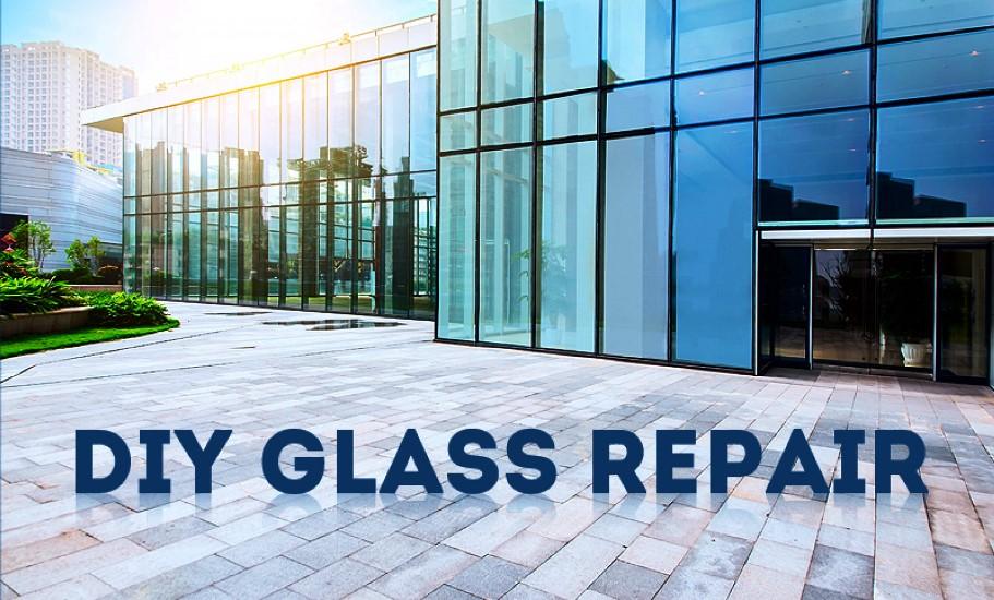 Glass repair-DIY