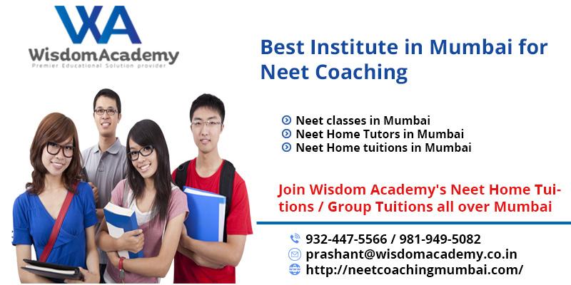 best Neet classes in Mumbai